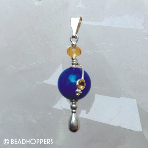 Gemstone Headpin Bead Enhancer